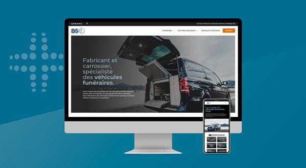 Un nouveau site web pour nos véhicules funéraires.