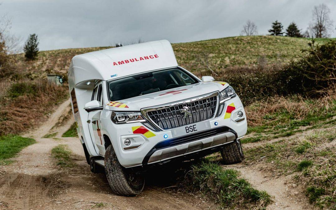 Une ambulance inédite pour le marché nord-africain.