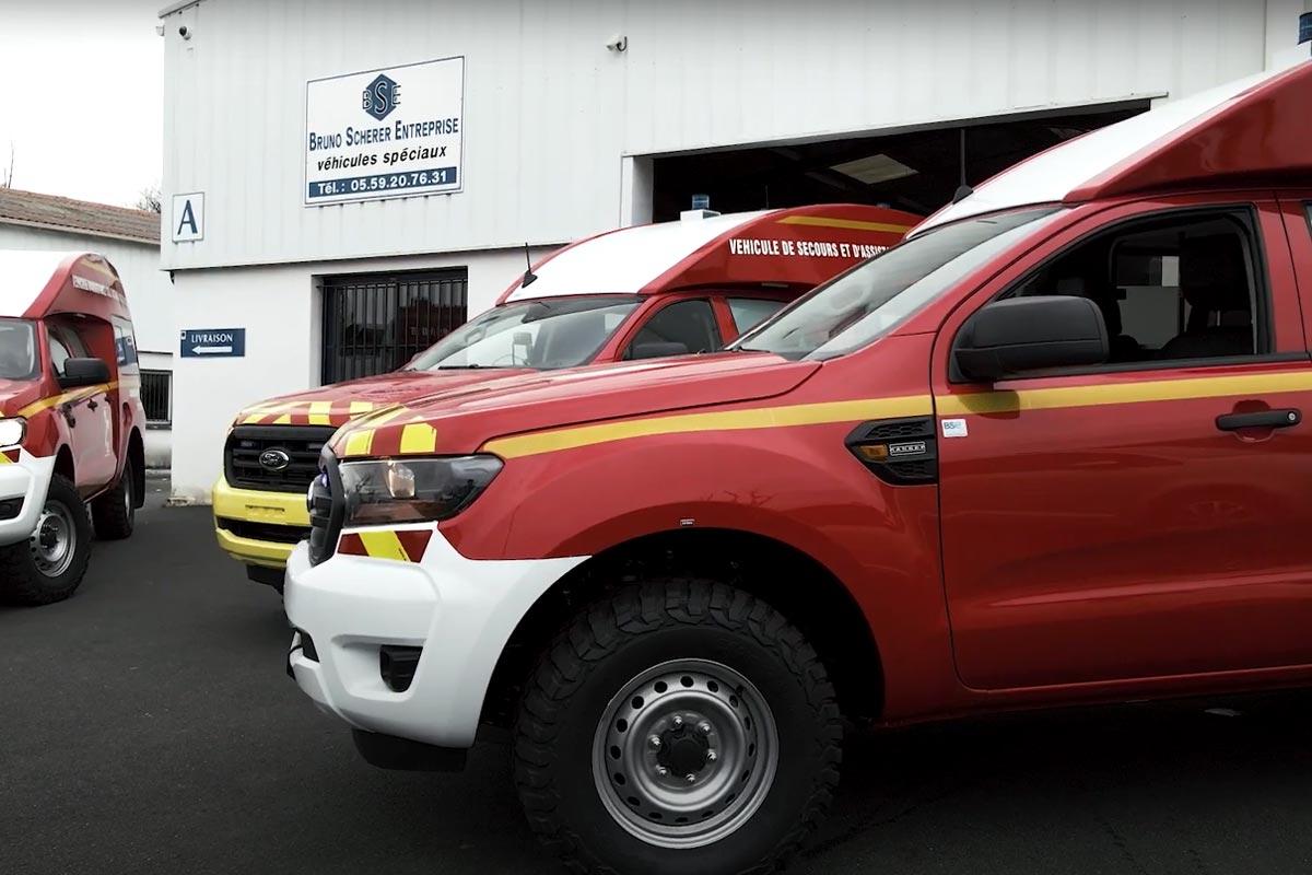 BSE est un fabricant et un concepteur d'ambulances, de SAV et de véhicules funéraires