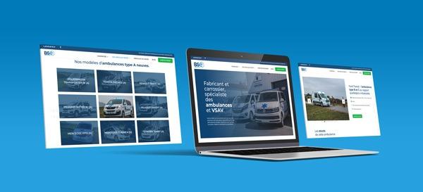Nouveau site web bse ambulances